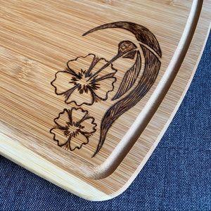 Hummingbird artisan Cutting board , charcuterie